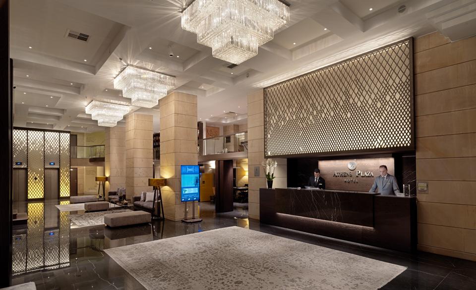N j v athens plaza hotel gtp for Design hotel athens